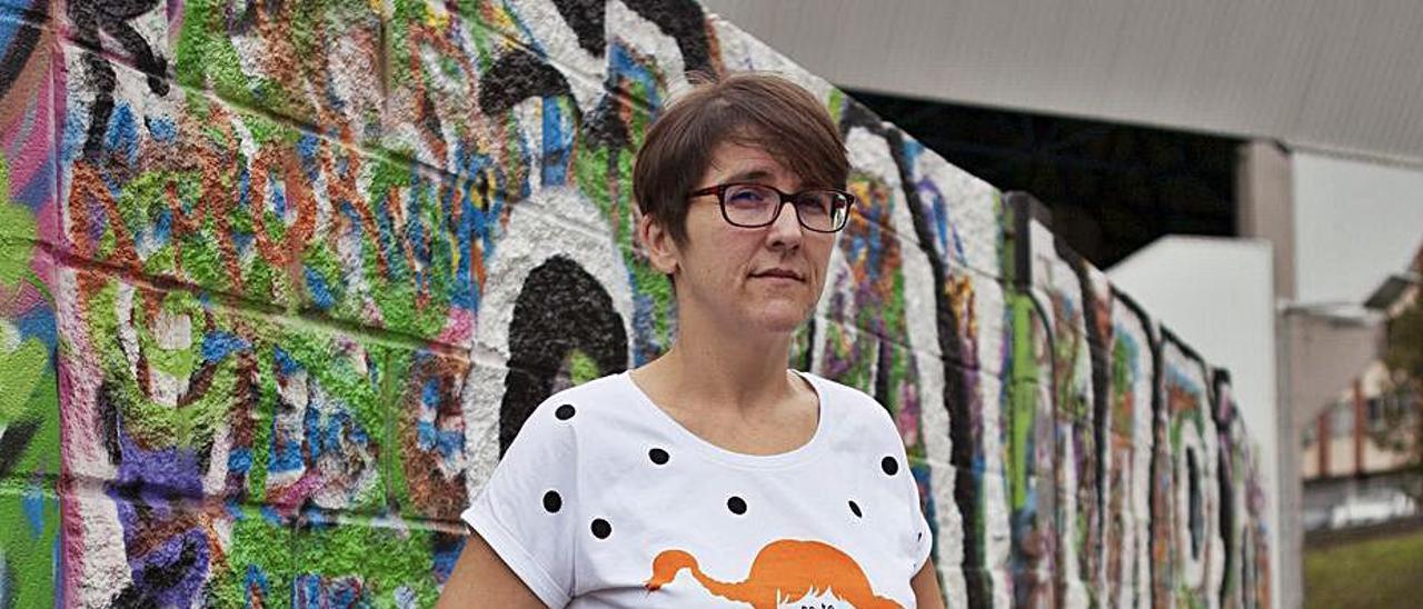 La historiadora del arte Patricia Pérez. | Eliana Lamata