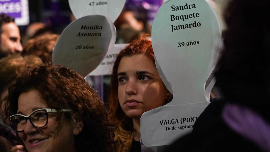 Más de 4.000 personas se manifiestan en Málaga contra la violencia machista