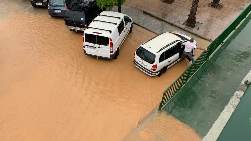 El temporal descarga en Ibiza y Formentera casi 100 litros de lluvia durante las últimas 24 horas