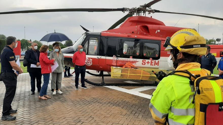 El dispositivo estival contra incendios forestales de Castellón suma 750 efectivos
