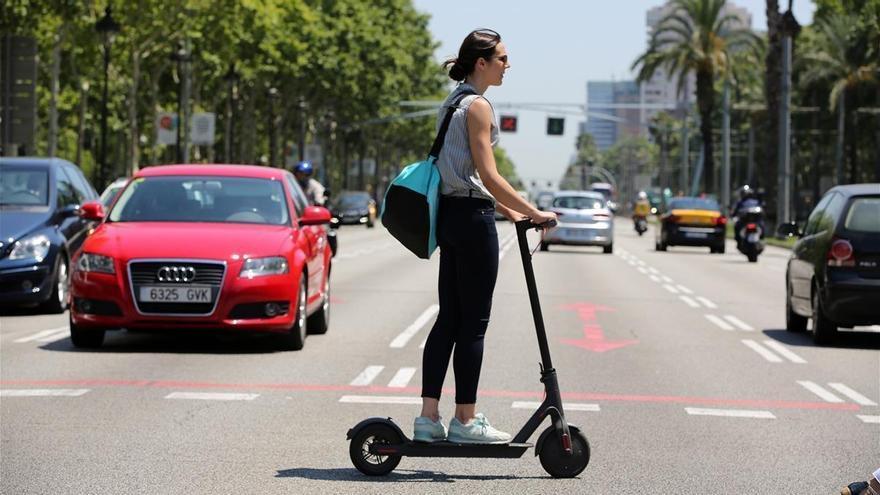 La DGT quiere regular bien el uso del patinete eléctrico
