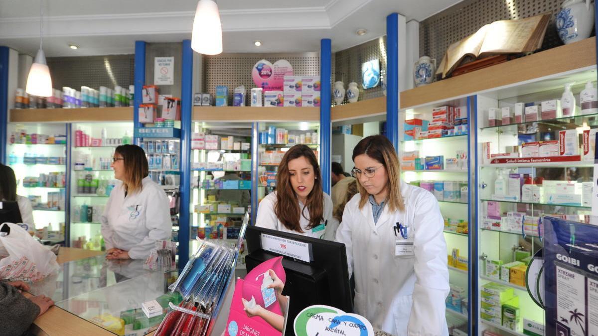 Una farmacia de Murcia.