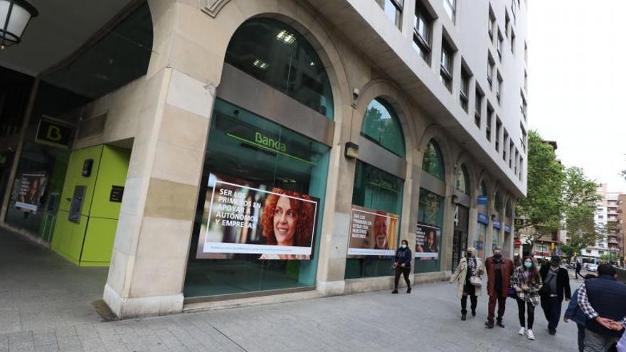 Aragón acabará   el año con menos oficinas de banca que nunca
