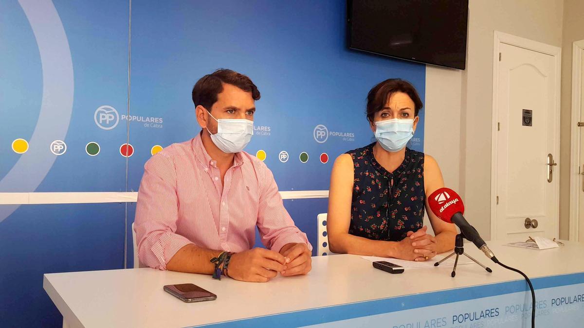 Fernando Priego y María Luisa Ceballos.