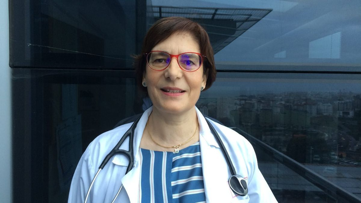 Marina Blanco Aparicio, neumóloga del Chuac.