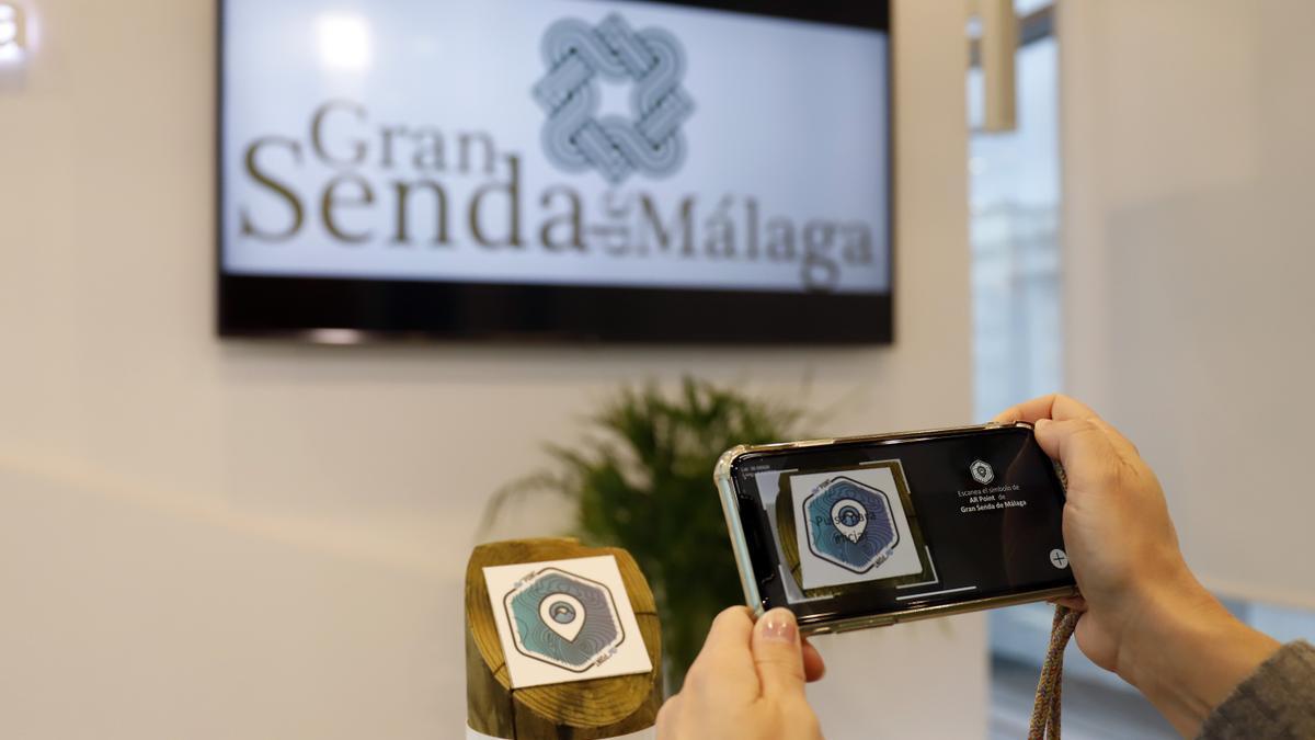 La Diputación lanza una app pionera para guiar a los usuarios de la Gran Senda