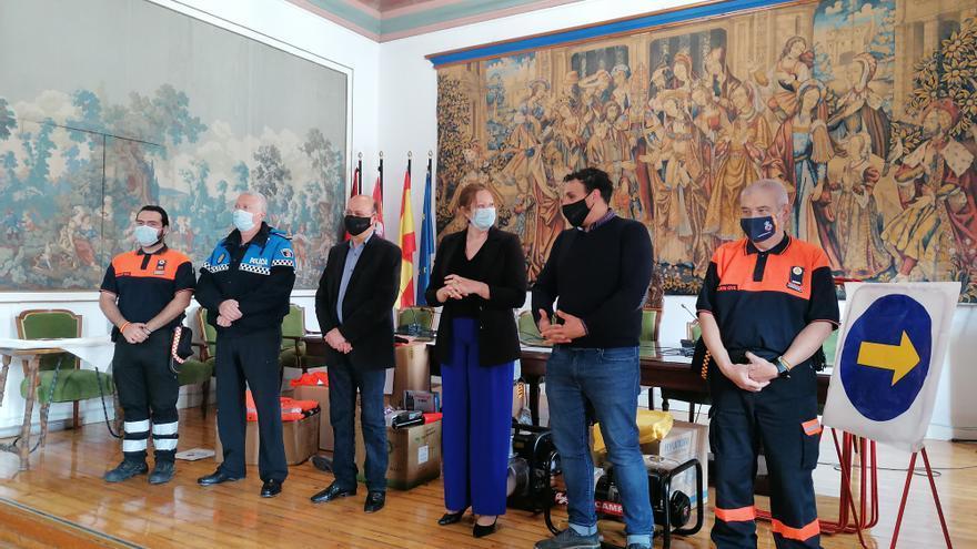 Protección Civil de Toro amplía su equipamiento con una donación de material