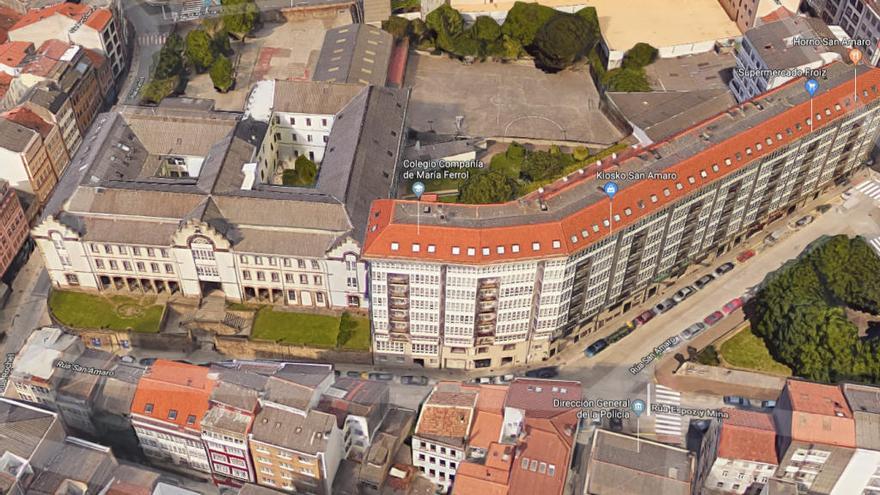 Ingresada una profesora de Ferrol por un posible caso de meningitis