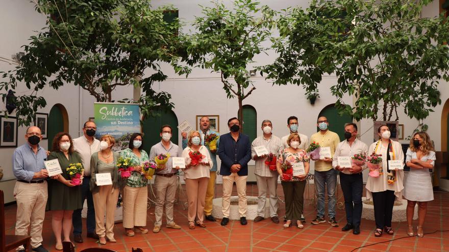 La Subbética entrega los premios del concurso de patios, rincones y balcones