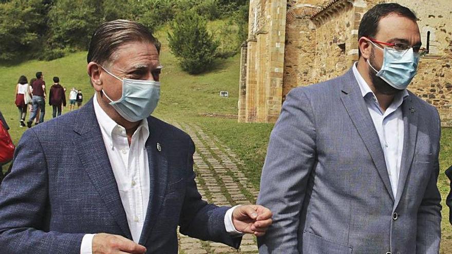 """Canteli celebra que Oviedo lidere los actos del Xacobeo: """"No podía ser de otra manera"""""""