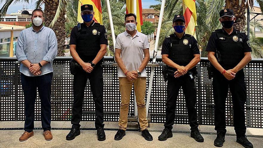 La Policía Local de Canet se refuerza con dos nuevos agentes