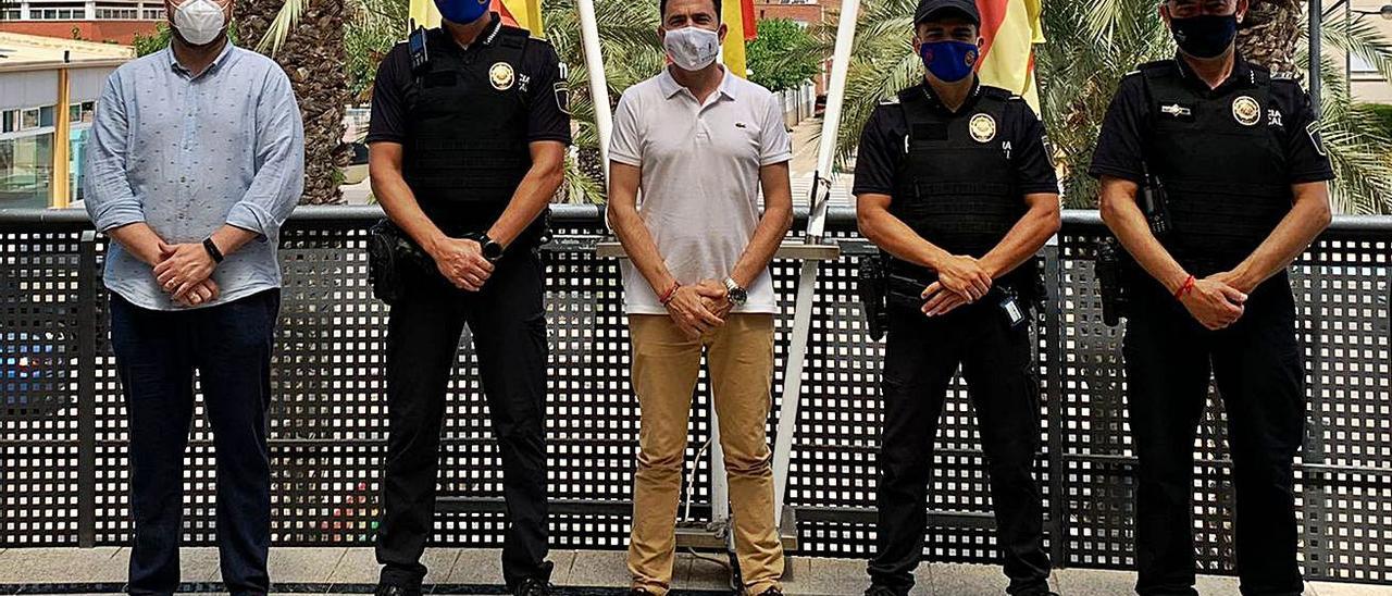 La Policía Local de Canet se refuerza con dos nuevos agentes | LEVANTE-EMV