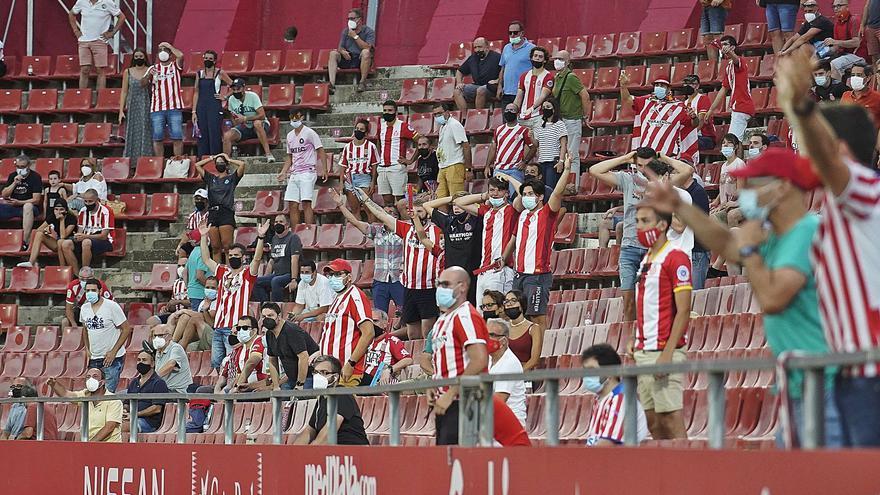 (Només) 1.871 espectadors tornen a Montilivi el dia que l'estadi feia 51 anys