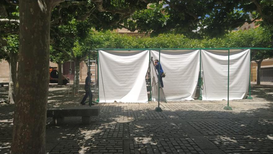 Comienzan los preparativos para la mini Feria de la Cerámica de Zamora