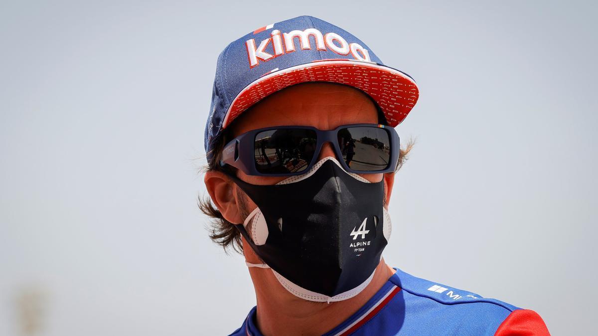Fernando Alonso, durante una prueba del Mundial de este año.