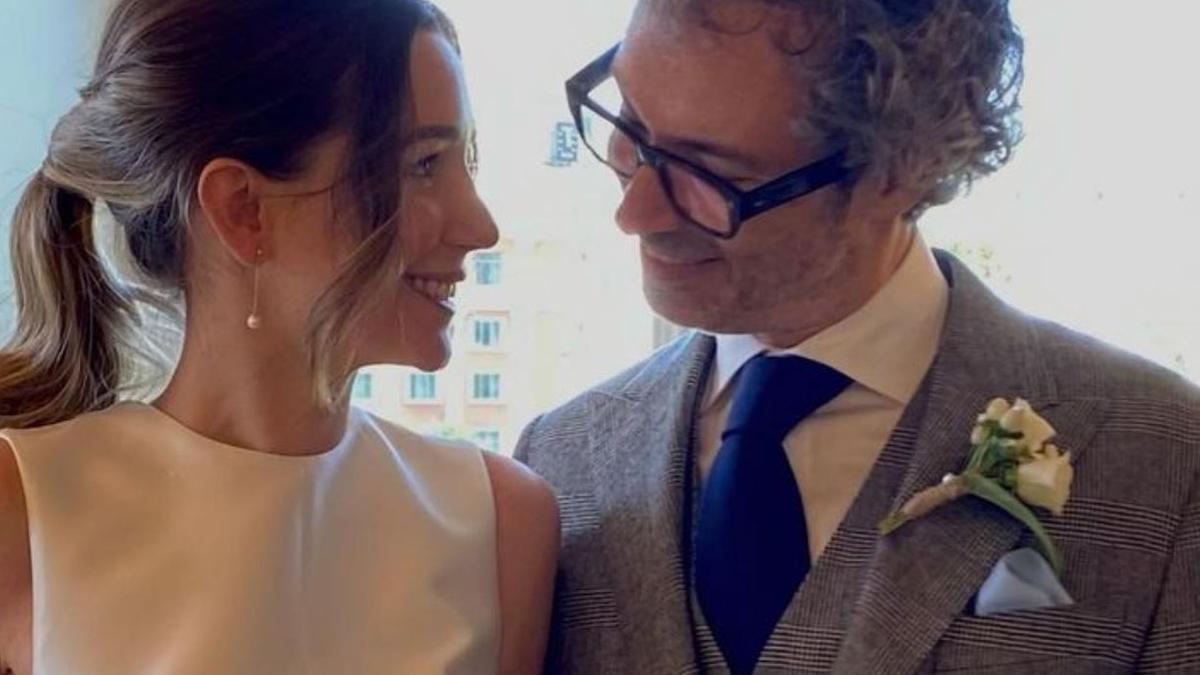 James Rhodes e Micaela Breque