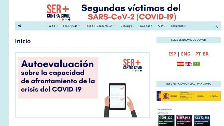 """Galardón para el portal web y app """"Ser + Contra Covid"""" de la Universidad de Elche"""