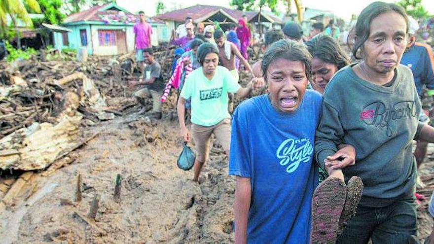 La catástrofe, más cerca de lo previsto