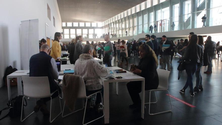 Großer Andrang bei Jobmesse in Palma de Mallorca
