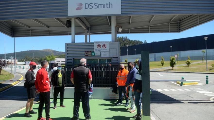 Fin al conflicto laboral en DS Smith, antigua Lantero