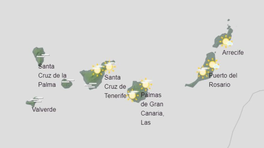Lloviznas en medianías de Gran Canaria para este sábado
