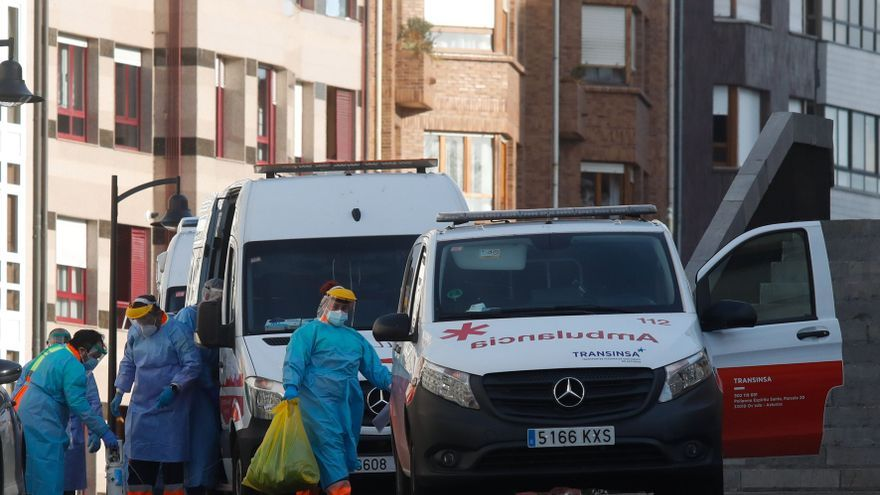 """Las cifras del """"noviembre negro"""": Asturias suma en un mes más de la mitad de los muertos de toda la pandemia y los geriátricos sufren un duro golpe"""