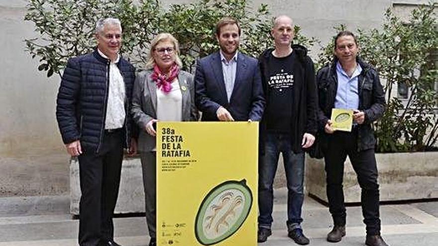 La 38a edició de  la Fira de la Ratafia espera superar  els 35.000 visitants