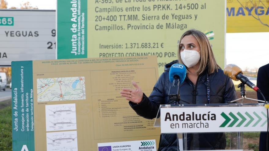 Fomento licita el estudio de la conexión entre Málaga, Ronda y Campillos