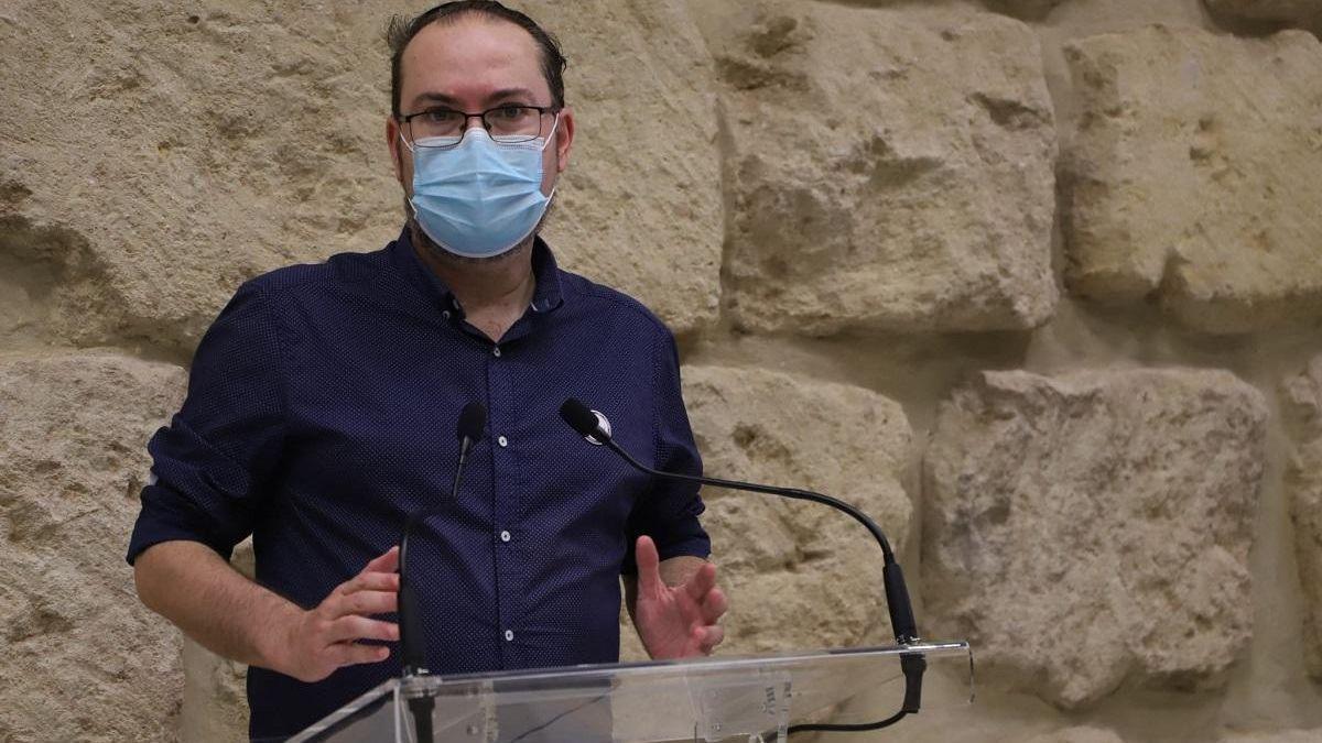 El concejal de Podemos Juan Alcántara.