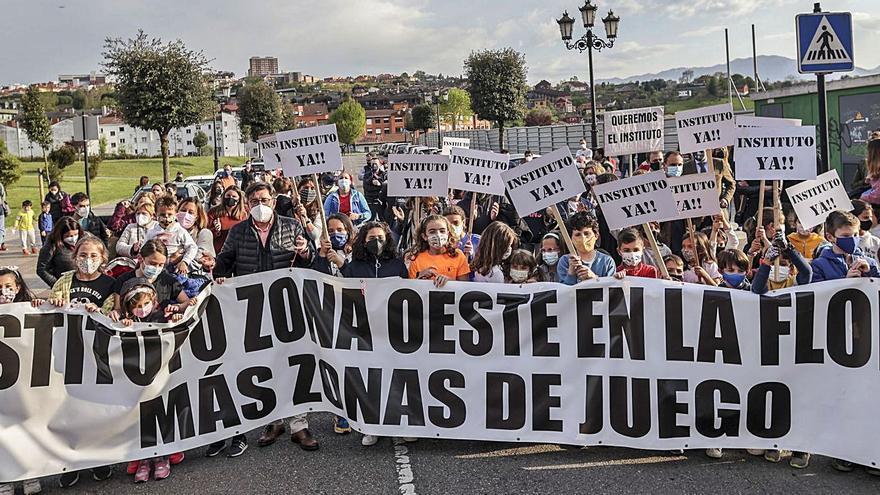 El nuevo instituto de La Florida, en Oviedo, para largo: Educación no prevé adjudicar las obras hasta finales de año