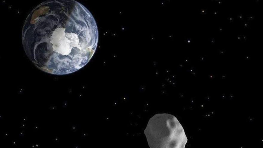 Un asteroide podría chocar contra la Tierra en 2022