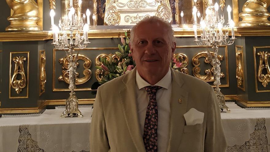 Lázaro Soto será nombrado Presidente de Honor del Paso Blanco de Lorca