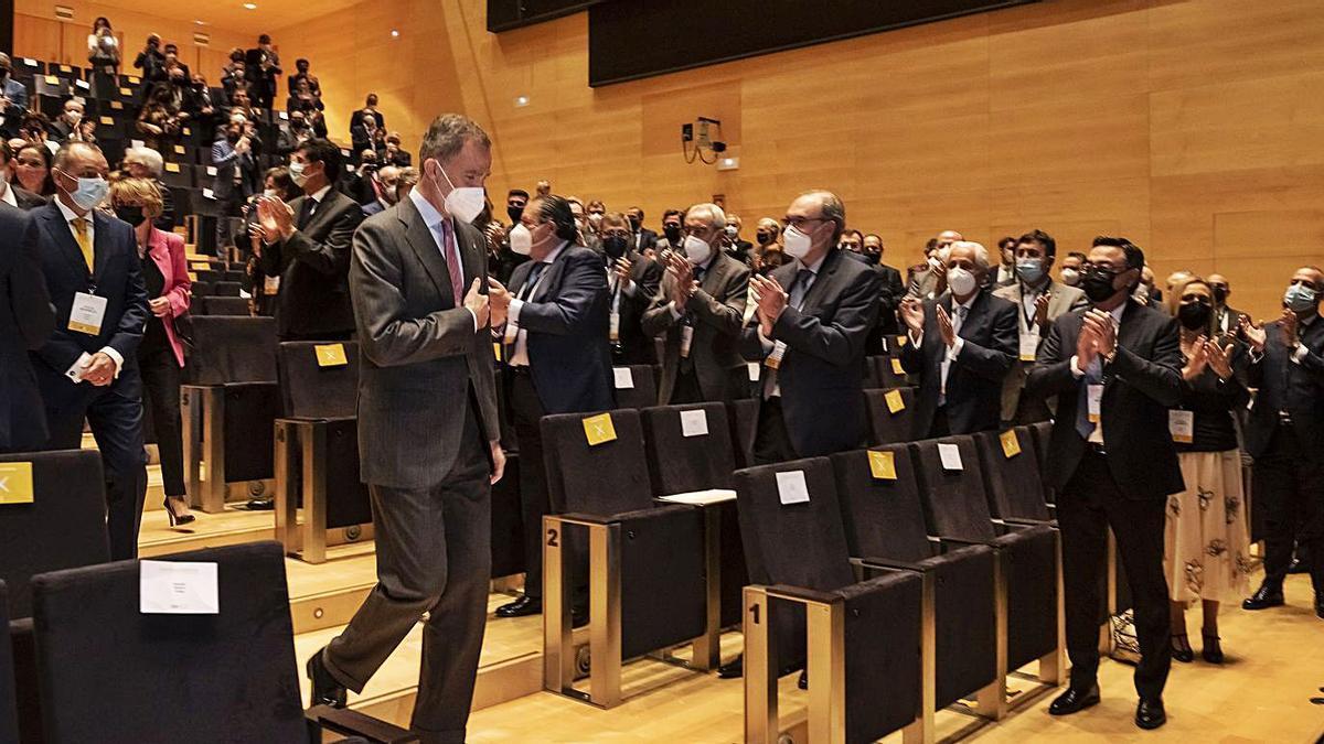 Felipe VI dice que «el camino de la recuperación será complejo»   FOTOS DE LEVANTE-EMV