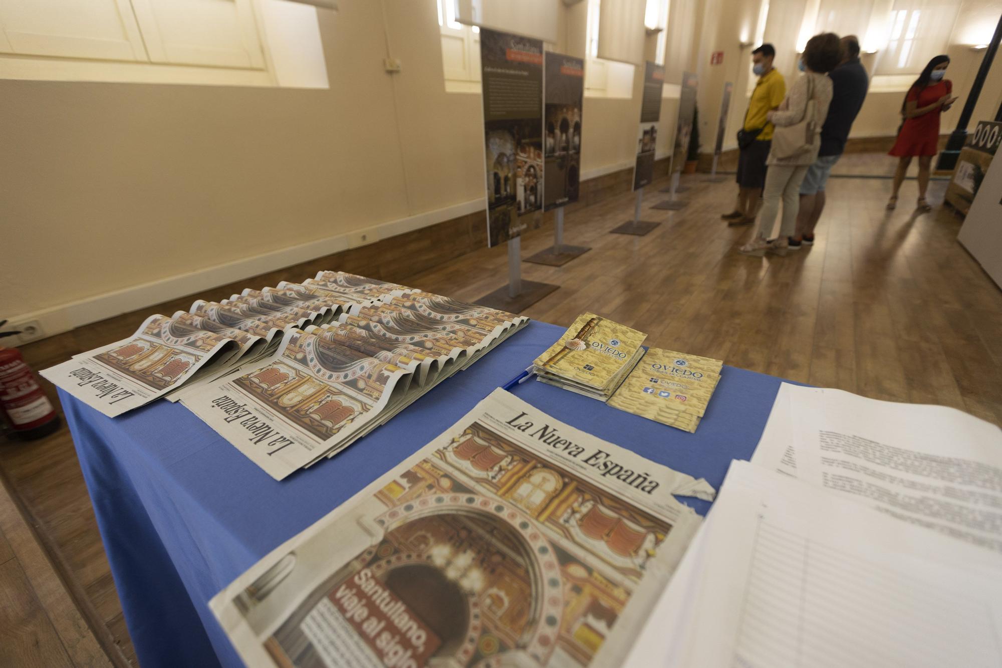 Exposición sobre las pinturas de la iglesia de Santullano