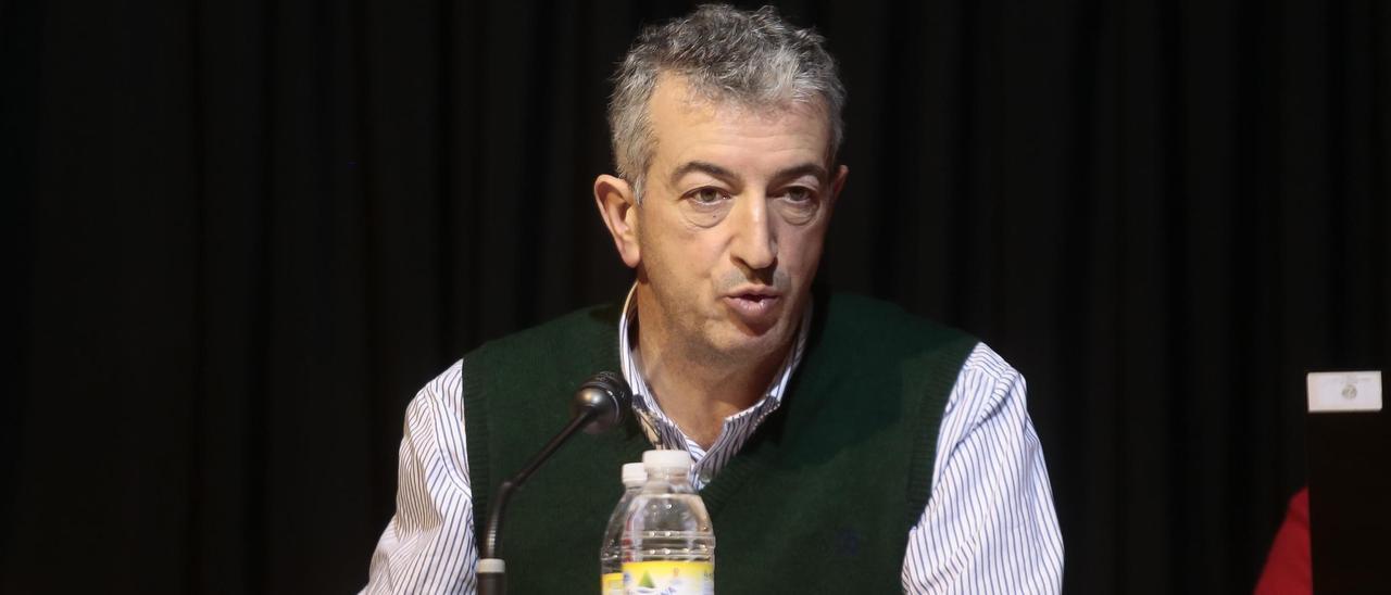 Fernando Guitián, anterior alcalde de Gondomar. // Adrián Irago
