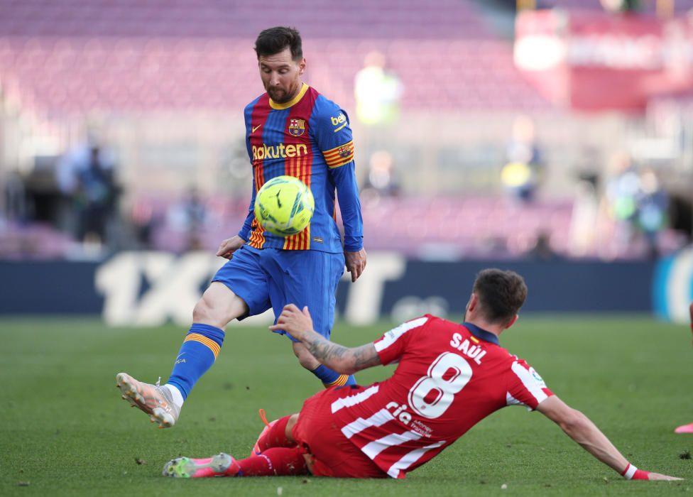 Barça - Atlètic de Madrid, en imatges