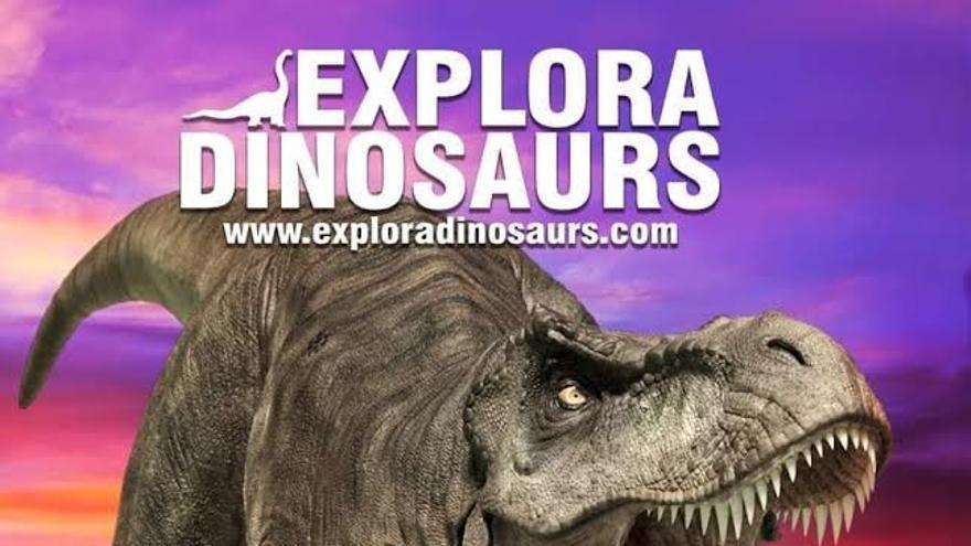 La exposición interactiva 'Explora Dinosaurs' llega a Badajoz