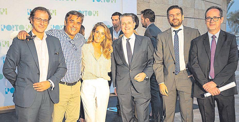 Víctor Fernández, Jose Ramón Albaladejo, Núria Miquel, Andrés Pérez-Herrera, Luis García y José María Romo.