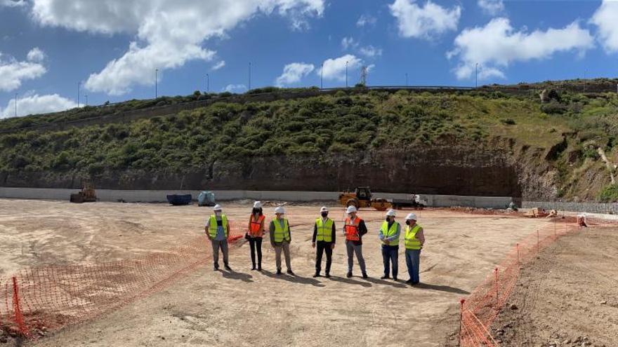 Arrancan las obras del nuevo  campo de fútbol de El Lasso