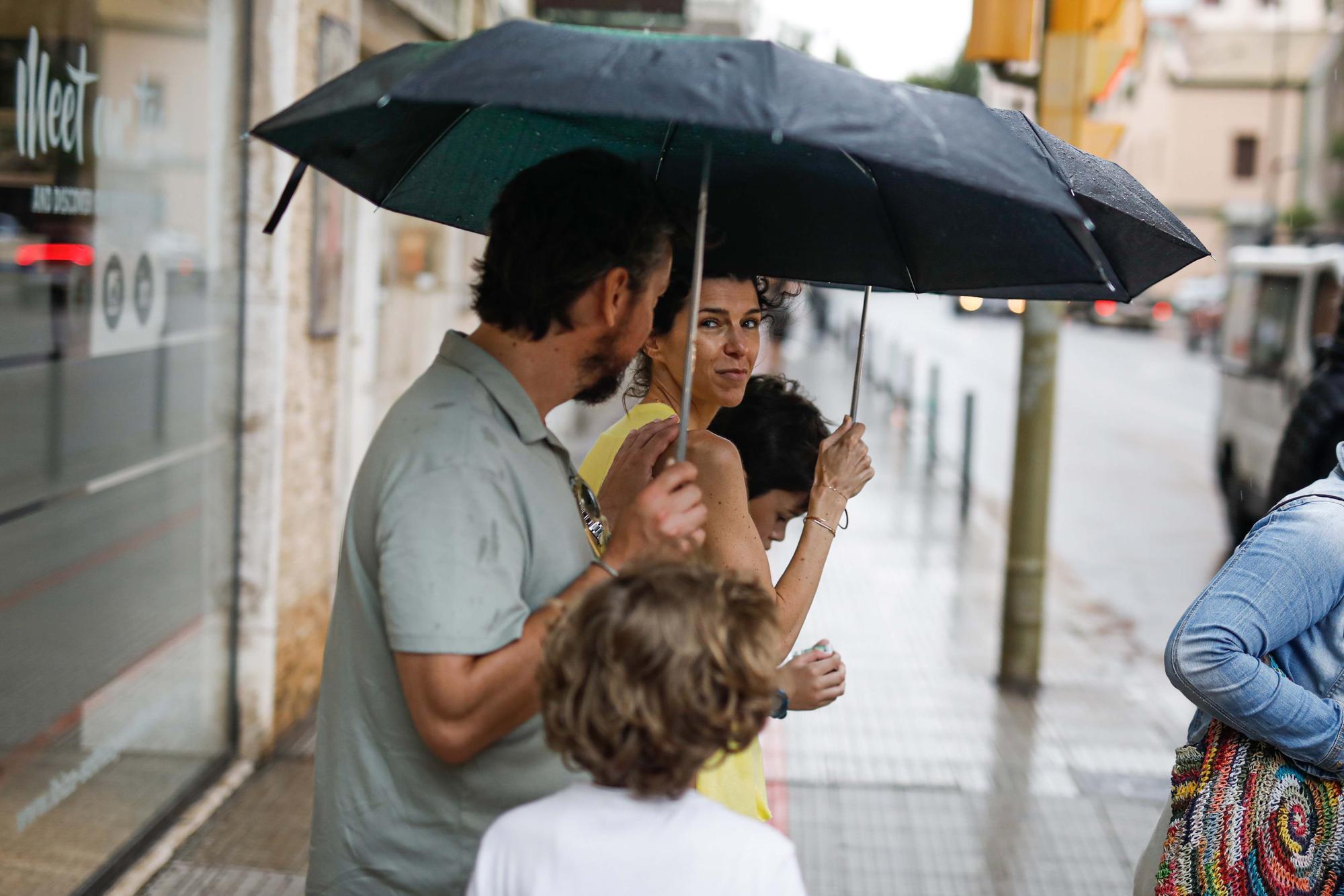 Lluvias en Ibiza y Formentera
