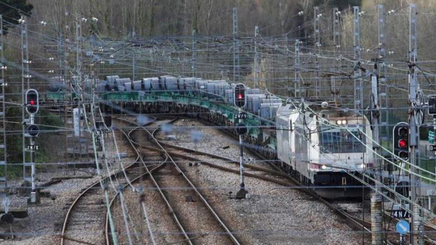 El corredor ferroviario atlántico recibe 800 millones menos que el mediterráneo