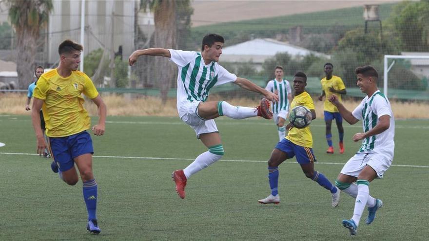 El Córdoba CF juvenil suma un punto ante el Cádiz