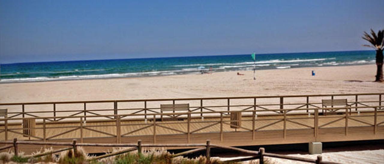 El Estado cede a Gandia los 250.000 m2 que expropió en la playa de l'Auir