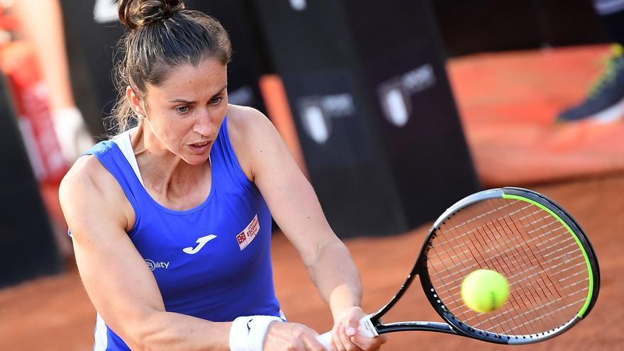 Sara Sorribes logra la victoria más épica de su carrera