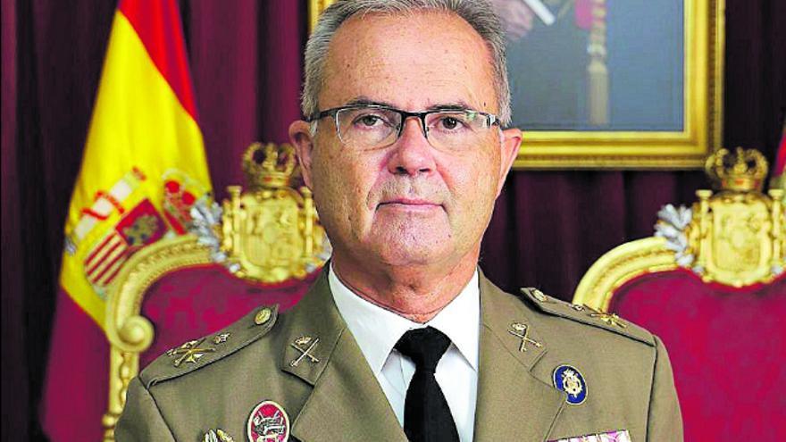 Alejandro Escámez, nuevo jefe del Mando del Ejército en Canarias