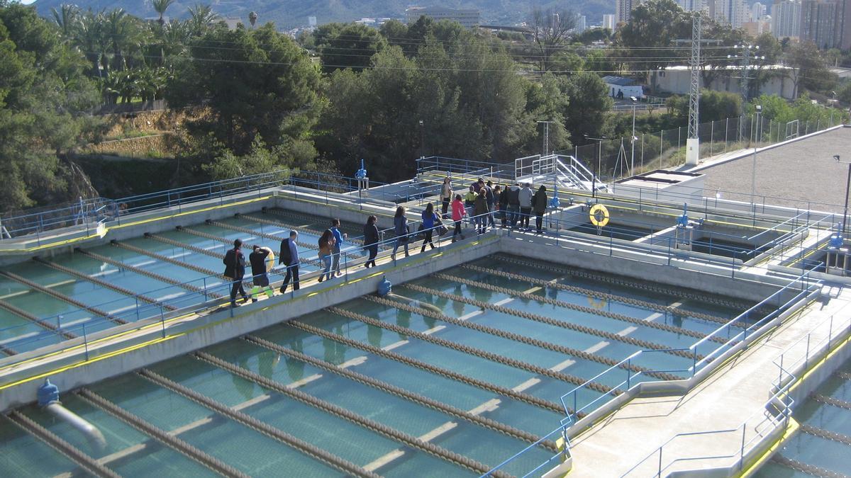Visitas a la Estación de Tratamiento Agua potable de Benidorm en 2019.