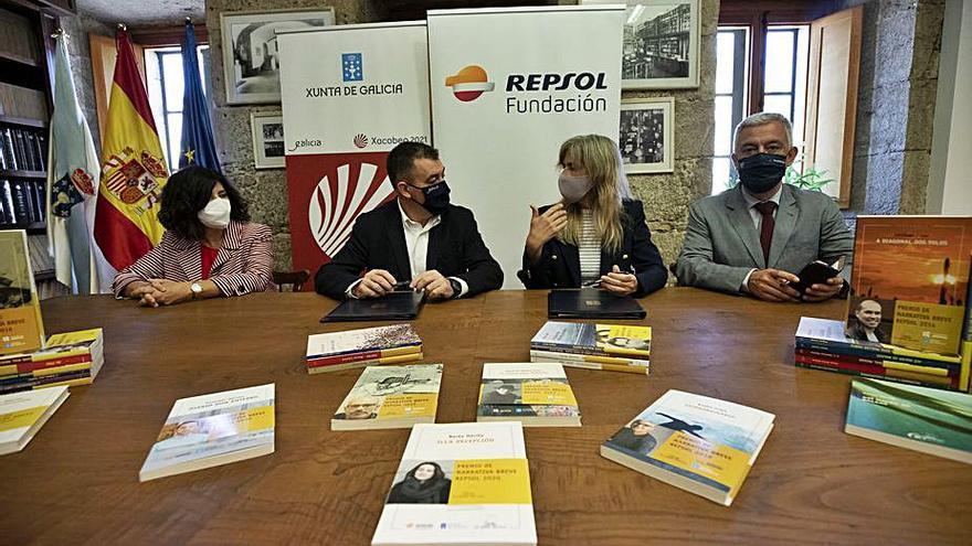 Repsol y la Xunta convocan la 15º edición del Premio Narrativa Breve, para obras en gallego