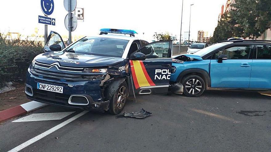 """""""El accidente de la policía y un coche podía haber acabado mucho peor"""""""