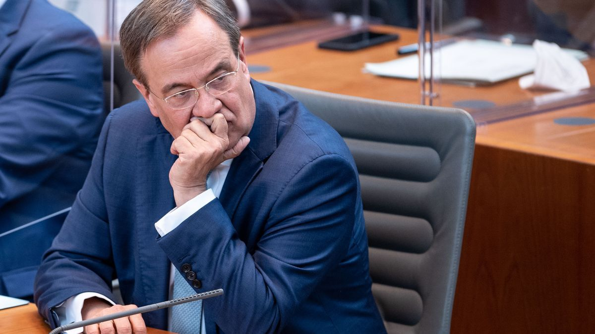 Armin Laschet, candidato a sustituir a Merkel como canciller.