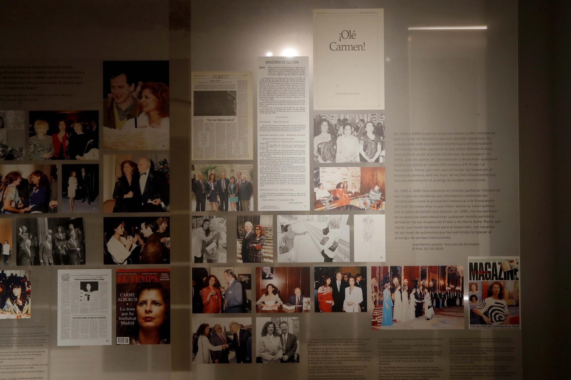 Exposición 'Carmen Alborch, L´art i la Vida'